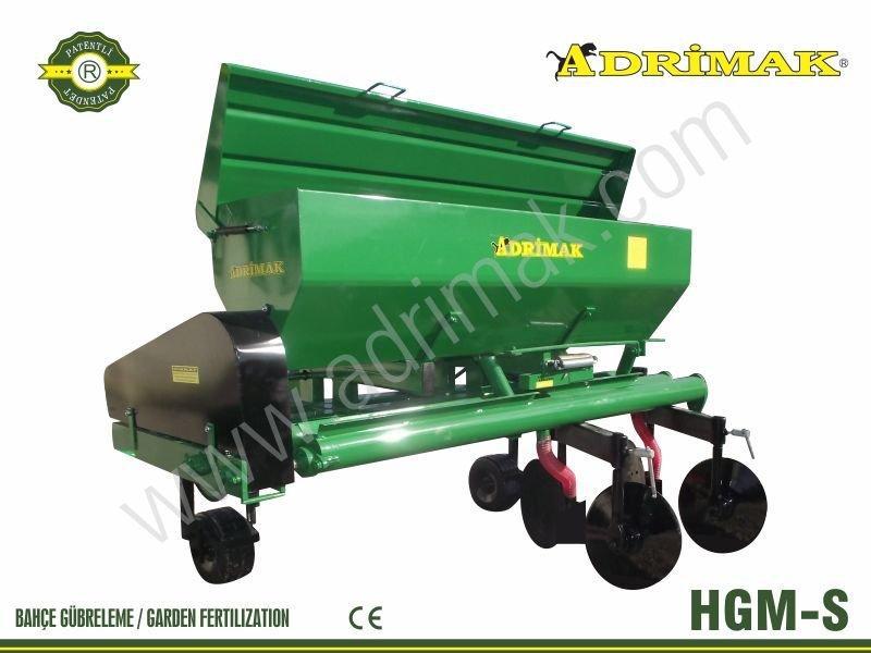 Helezonlu Sağdan Çıkışlı Gübre Makinası(HGM-S)
